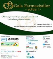 Gala Farmacistilor – Evenimentul anului pentru toti profesionistii din domeniul farmaceutic