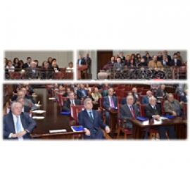 """Academia Romana si Fundatia """"Acad. Marin Voiculescu"""" au comemorat 100 de ani de la nasterea Acad. Marin Voiculescu"""