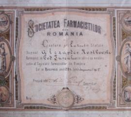 DOCUMENT INEDIT DIN ISTORIA FARMACIEI BACAUANE