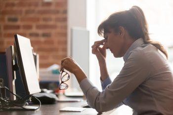 Sindromul de oboseala vizuala la calculator si acuzele vizuale