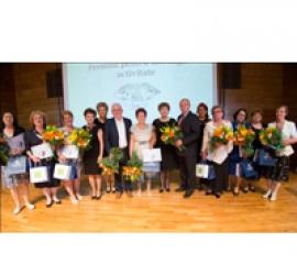 Laureații la Gala Premiilor de Excelență în Asistență Medicală 2015