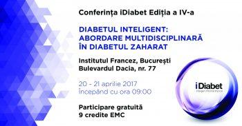 Peste 500 de medici sunt așteptați la a IV-a ediție a Conferinței iDiabet