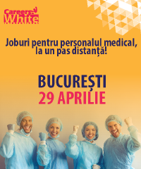 Joburi pentru personalul medical, la un pas distanta! BUCURESTI 29 APRILIE