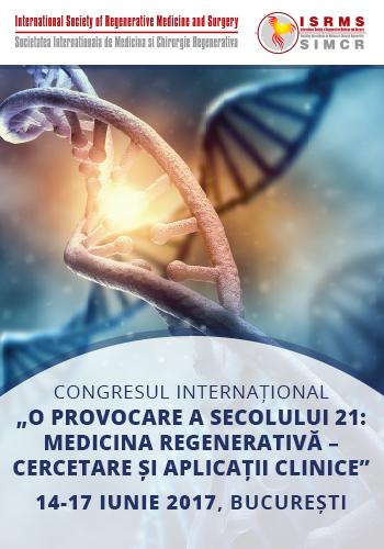 Congres: O provocare a secolului 21 - medicina regenerativa