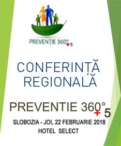 Conferință regională Prevenție 360