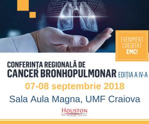 Conferința regională de cancer bronhopulmonar