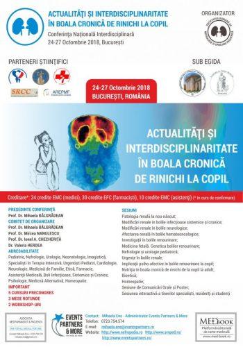 Conferința Națională Interdisciplinară de Nefrologie și Urologie Pediatrică