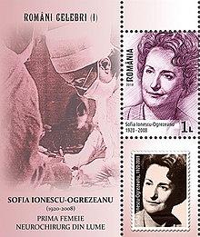 Sofia Ionescu (1920-2008), prima femeie neurochirug din lume