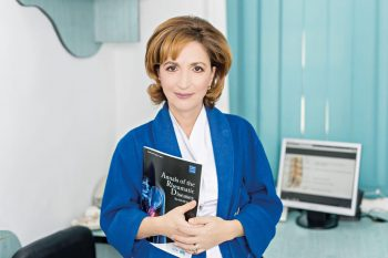 Interviu conf. univ. dr. Gabriela Udrea