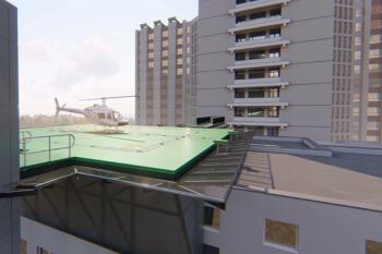 Spitalul Universitar de Urgență București va avea heliport!