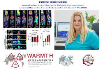 Un medic român este în boardul Asociației Mondiale de Terapie Radionuclidică și Moleculară