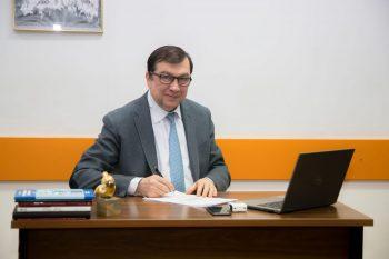 "Prof. univ. dr. Viorel Jinga, noul rector al UMF ""Carol Davila"""