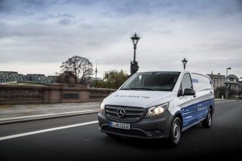 (P) Mercedes-Benz eVito Furgon, autoutilitara perfect configurată pentru industria farmaceutică