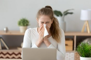 Rinita alergică, o afecțiune frecvent întâlnită