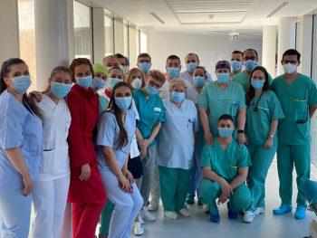 Peste 500 de pacienți au fost tratați la Spitalul Pelican, Oradea